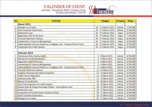Calender Of Event - SSA