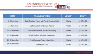 Calender Of Event SSA - Oct2015